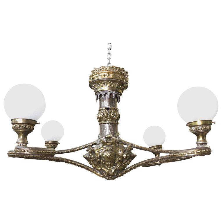 Globe Chandelier Light