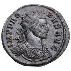 Ancient Roman Antoninianus Coin of Emperor Probus, 278 AD