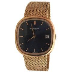 Wonderful 18-Karat Patek Philippe 3604 /2 Jumbo Ellipse Watch