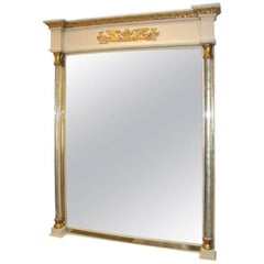 Grosfeld House Mirror with Lucite Columns