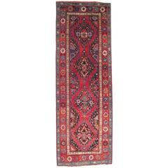 Antique Karabagh Runner Rug
