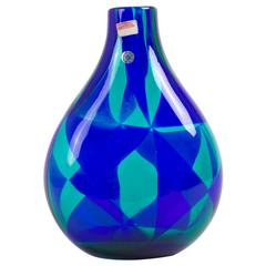 Large 'Intarsio' Murano Vase by Enrcole Barovier for Barovier & Toso, 1960s