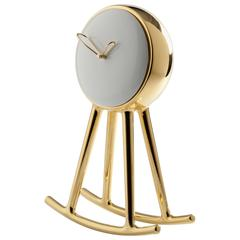 Infinity Clock Gold Designed by Nika Zupanc for Bosa