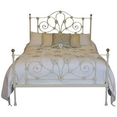 Mid-Victorian Cast Iron Bed