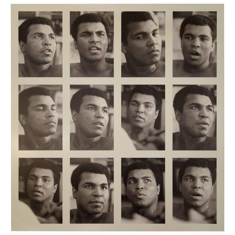 """""""The Twelve Faces of Muhammad Ali"""" Photograph on Aluminum by Gary Michaels    l"""
