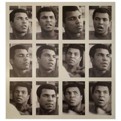 """Muhammad Ali, the Greatest,"" Photograph on Aluminum by Gary Michaels"