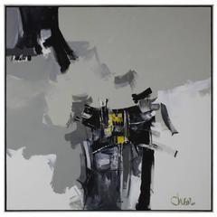 Robert Sheldon Oliver Acrylic Abstract Painting