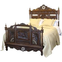 Oak Breton Bed
