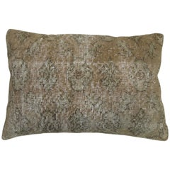 Turkish Lumbar Rug Pillow