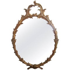 Italian Gold Giltwood Wall Mirror