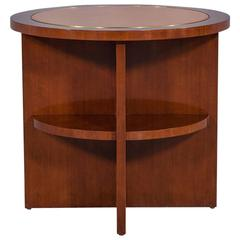 Ralph Lauren Round Occasional Table