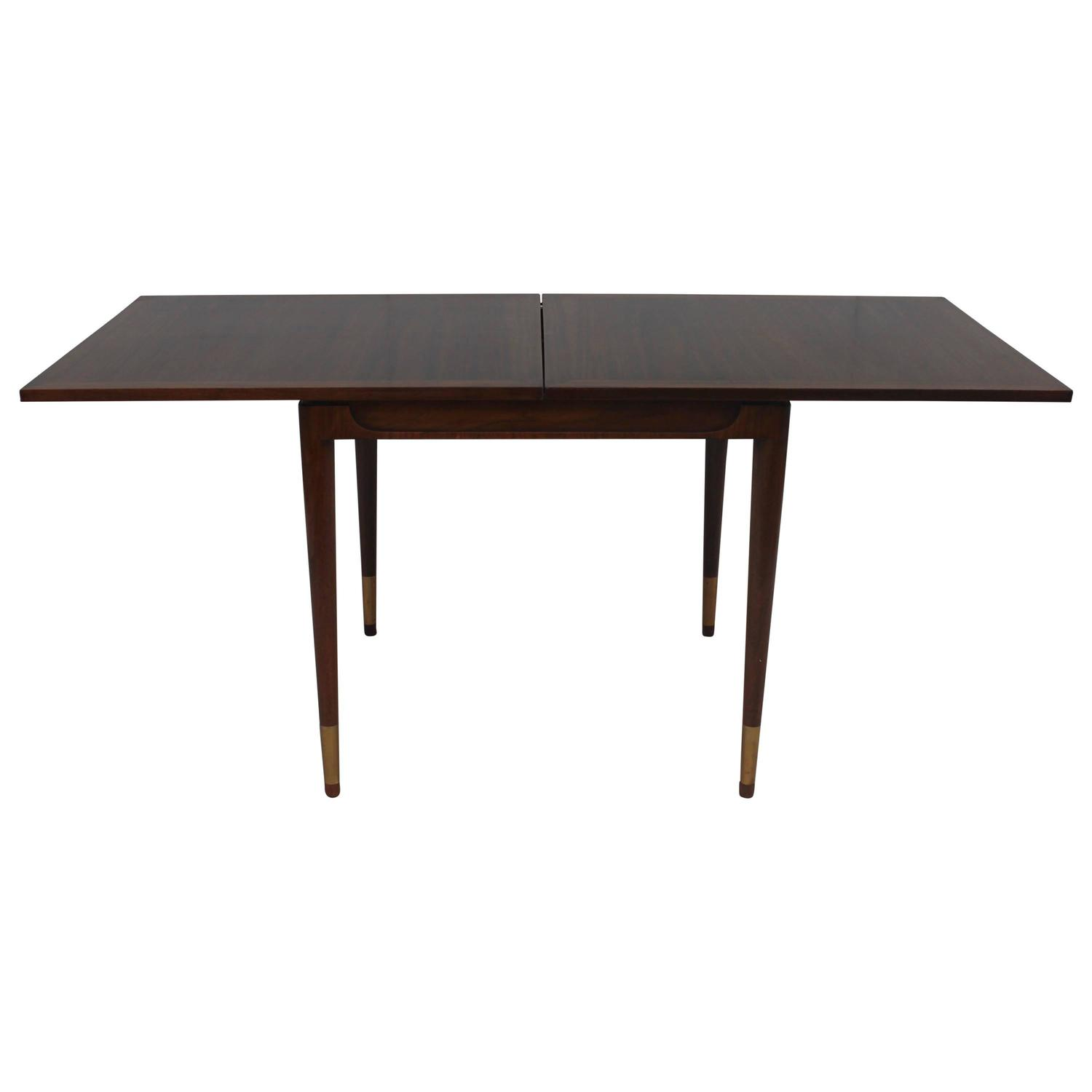 Bert england folding top game table at 1stdibs for England table
