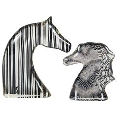 Abraham Palatnik Set of Two Horse's Heads