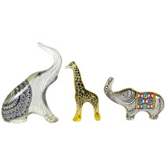 Set of Three Wild Animals Made by Abraham Palatnik