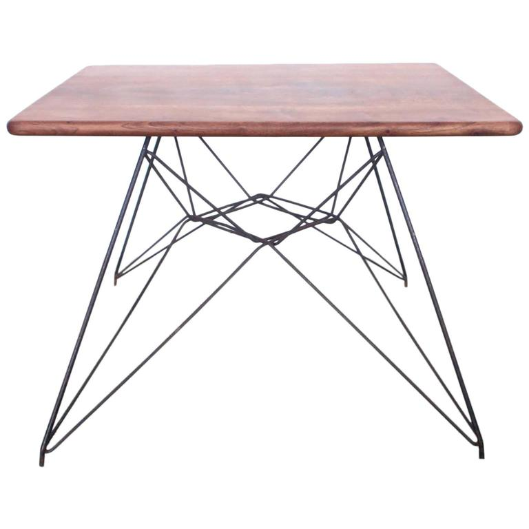 Eames Coffee Table Square: Early Eames Eiffel Base Prototype Table For Sale At 1stdibs