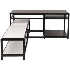 Interlocking Ebonized Tables by Wormley for Dunbar