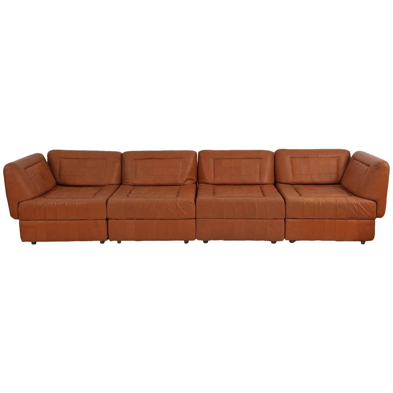 percival lafer patchwork leather sofa for sale at 1stdibs. Black Bedroom Furniture Sets. Home Design Ideas