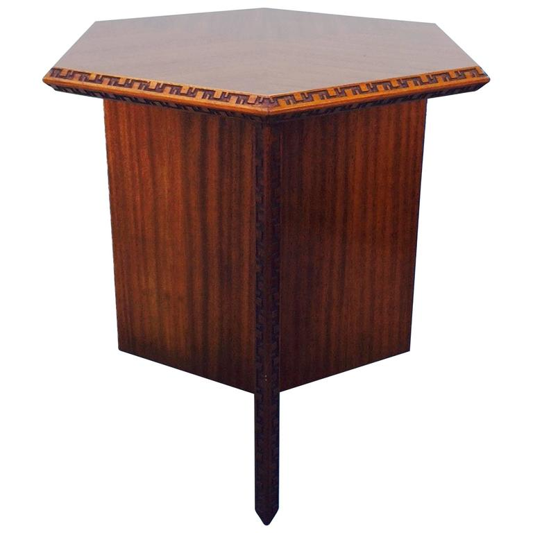 Frank Lloyd Wright Taliesin Cocktail Table 1955 At 1stdibs