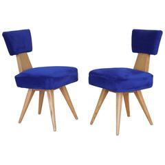 Pair of Vladimir Kagan Chairs, 1950s