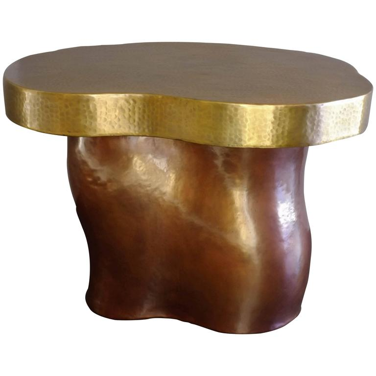Garrofon Side Table by Robert Kuo, Limited Edition, Customizable