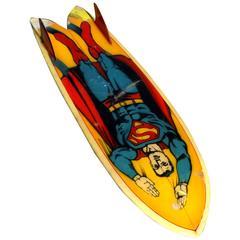 All Original 1970s Superman Pocket Rocket Surfboard