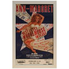Ann-Margret Autographed Musical Poster