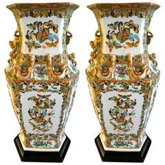 Pair of 18th Century Chinese Vases as Lamps