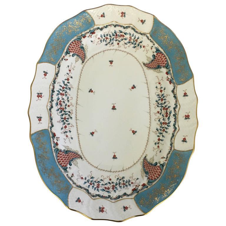 Herend Cornucopia (Tca) Oval Platter #1101