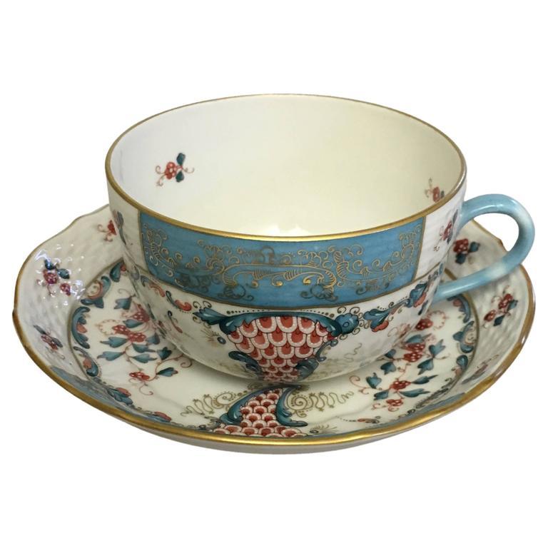 Herend Cornucopia 'TCA' Tea Cup and Saucer #1726