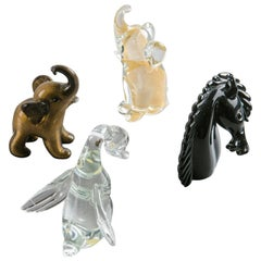 Murano Glass Animals by Archimede Seguso