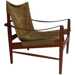 "Hans Olsen ""Safari"" Chair, Made in Sweden"