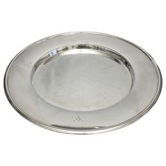 Hans Hansen Sterling Silver Large Tray #461