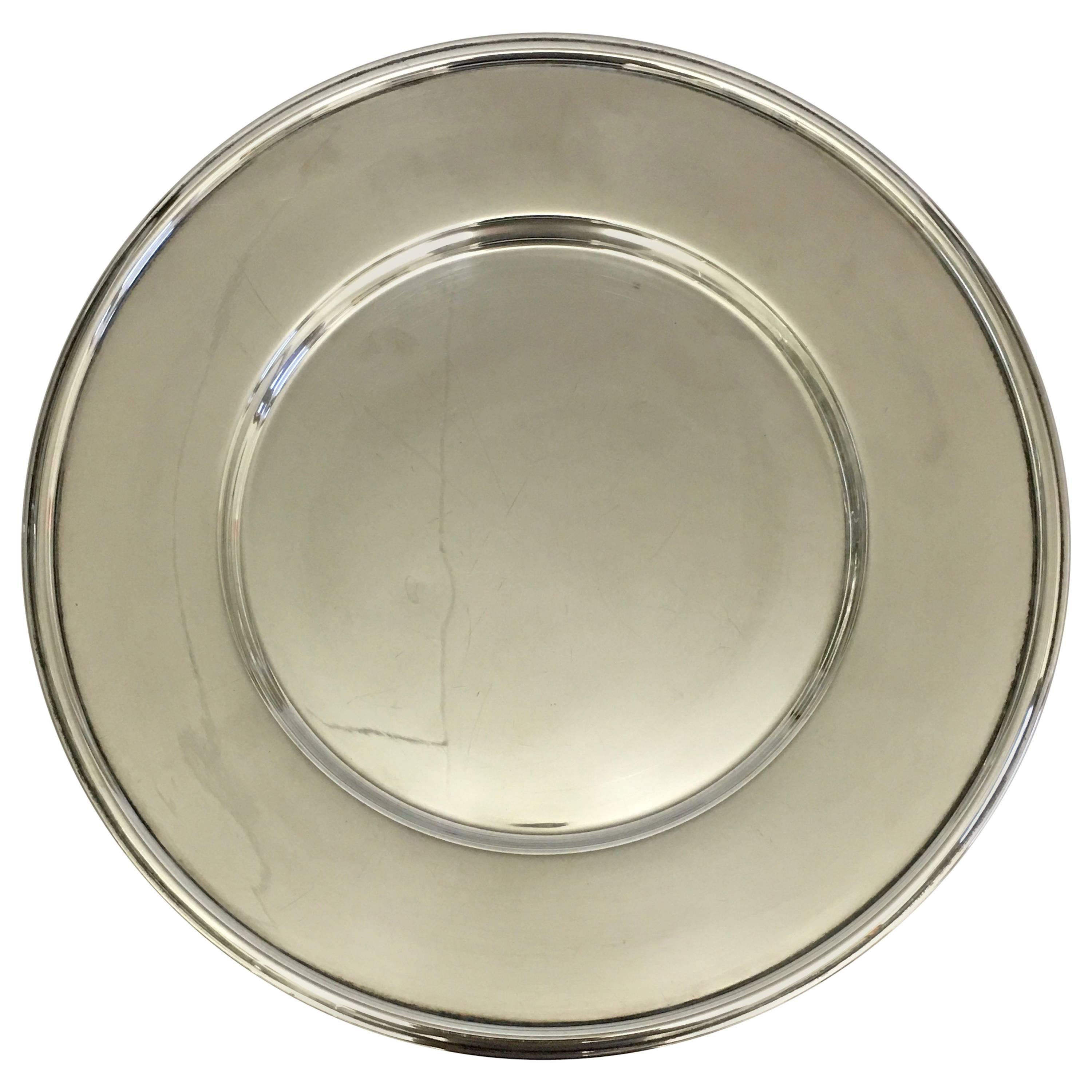 Hans Hansen Sterling Silver Tray / Charger