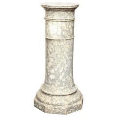 Late 19th Century Italian, Alabaster Column