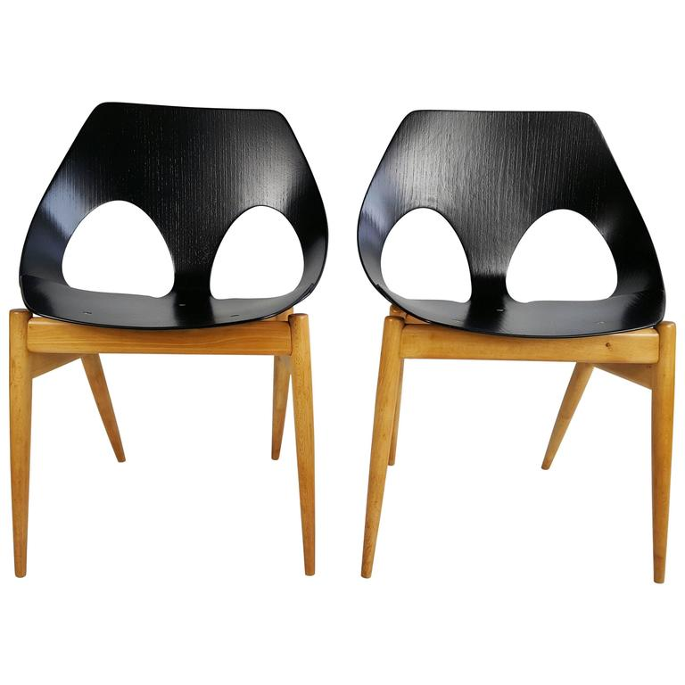 Modernist Pair of Plywood Chairs Carl Jacob C2  Jason  ...  sc 1 st  1stDibs & Carl Jacobs C2 Jason Chairs for Kandya For Sale at 1stdibs