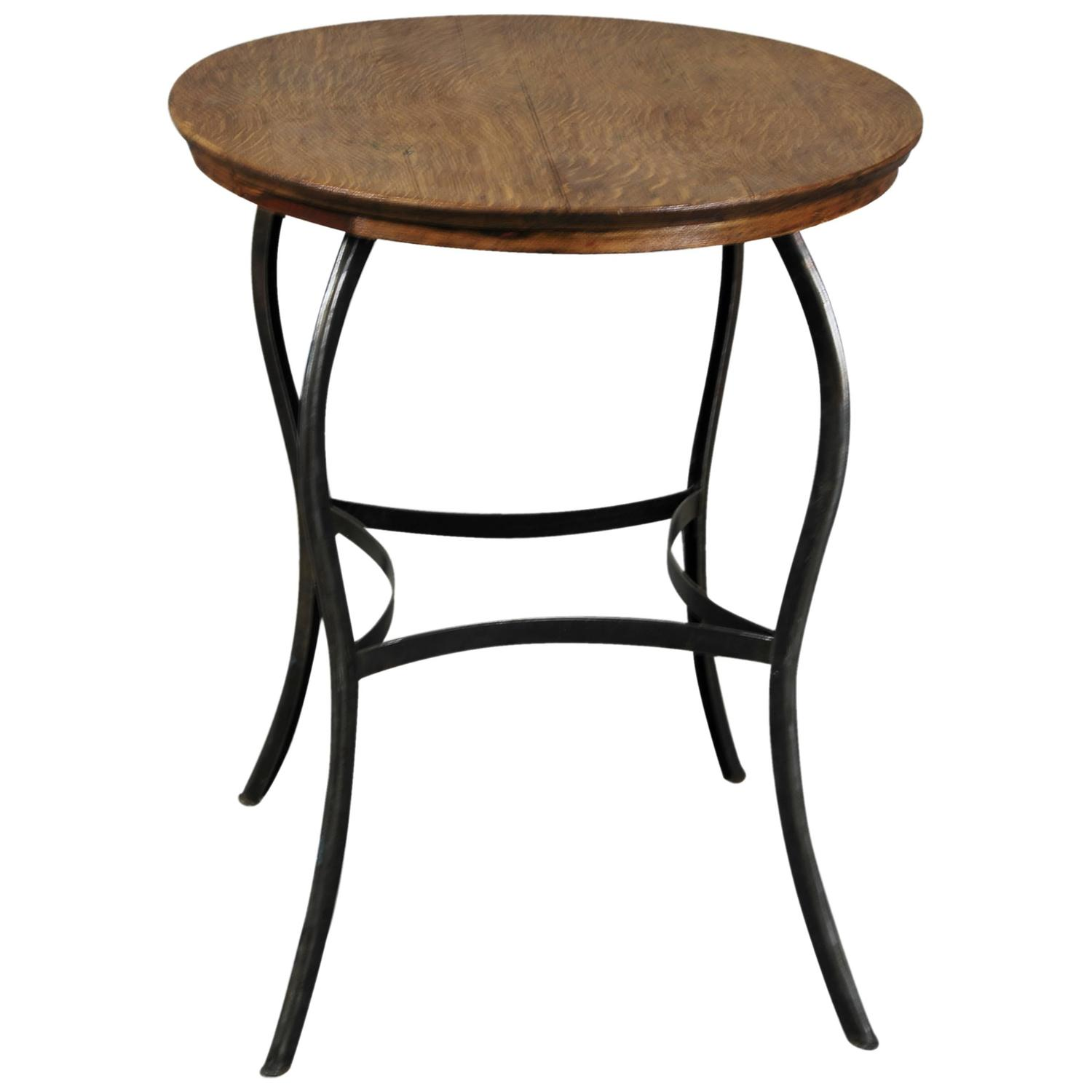 1920 Toledo Industrial Side Table At 1stdibs