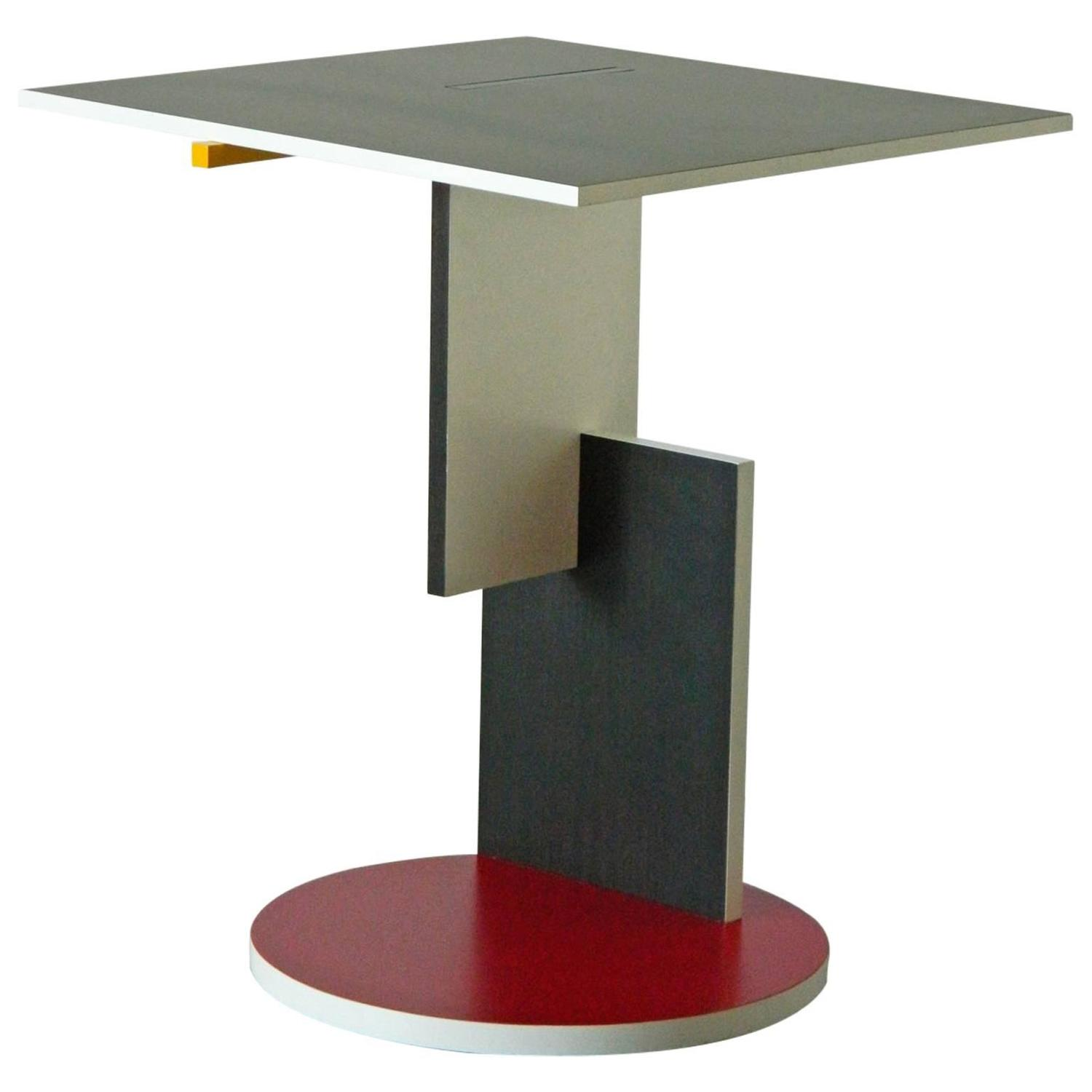 Gerrit rietveld chair for sale - Gerrit Rietveld Schroeder Table