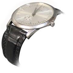 Gucci Men's Wristwatch in Genuine Alligator Skin, No. 5600m, 2002