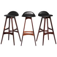 Rosewood Barstool by Erik Buch