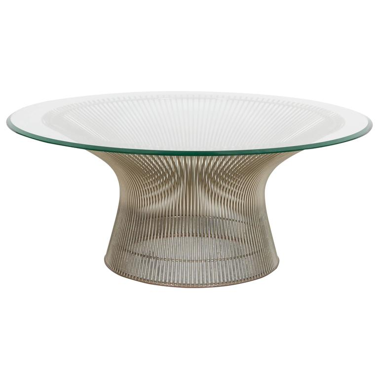 4045153 l Platner Coffee Table Warren Platner For Knoll Coffee Table At Stdibs