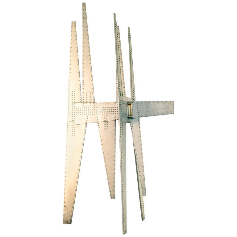 Modernist Sculpture by Yasuhide Kobashi For Sale