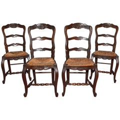 Antique French Provincial Dining Chairs