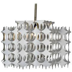 """""""Cynthia"""" Suspension Lamp in Anodized Aluminium by Mario Marenco for Artemide"""
