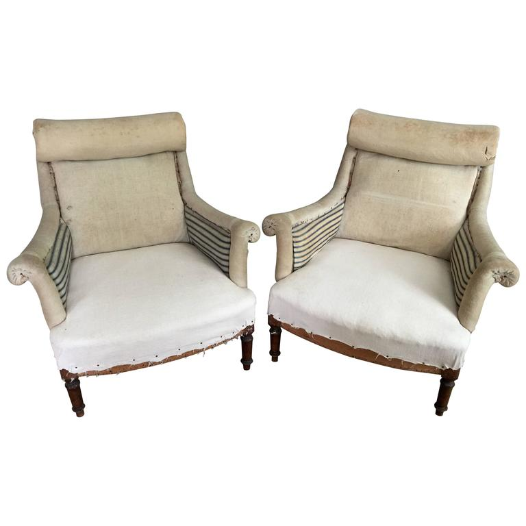 this pair of scroll top french salon chairs is no longer available