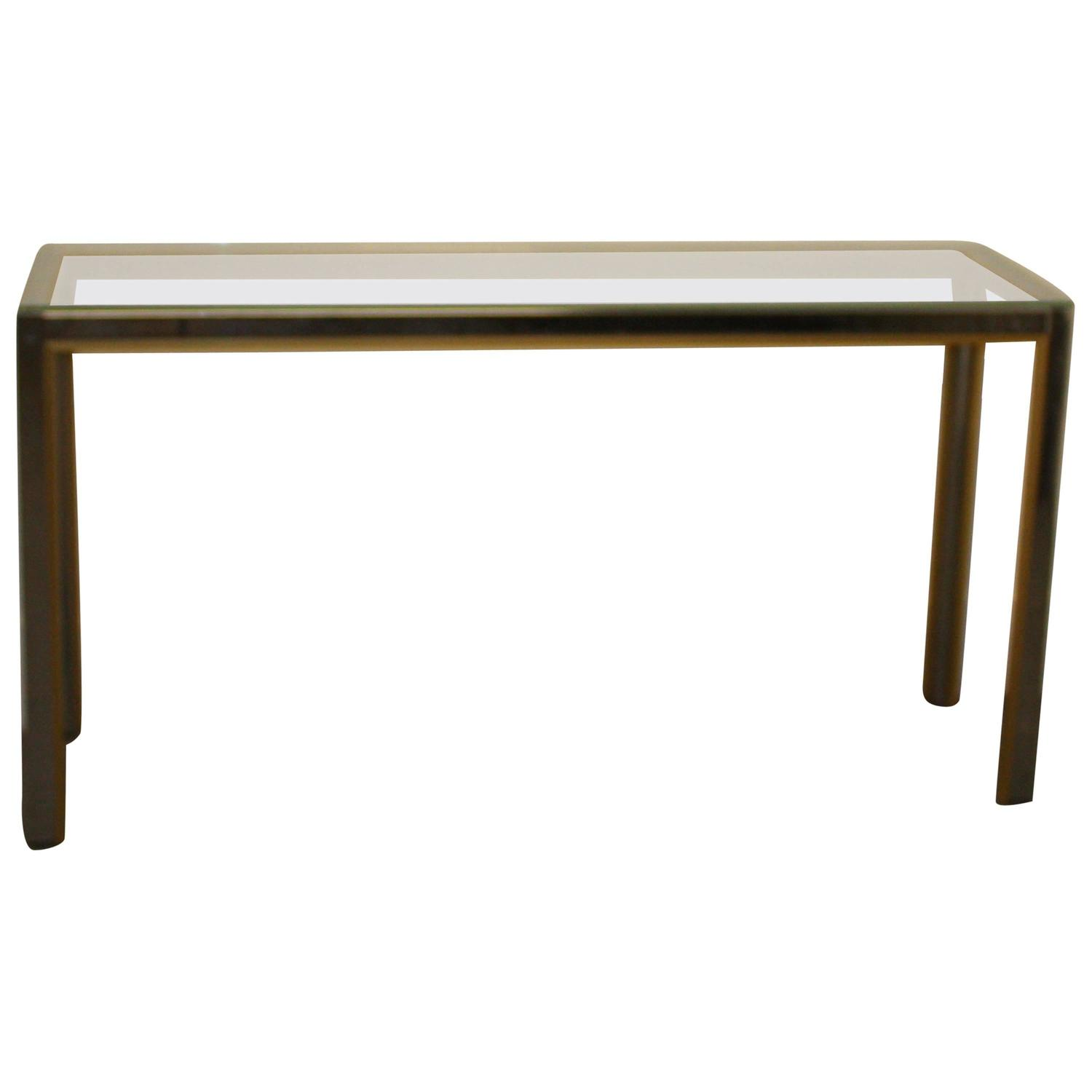 1970s italian console table in the style of willy rizzo at for Table willy rizzo