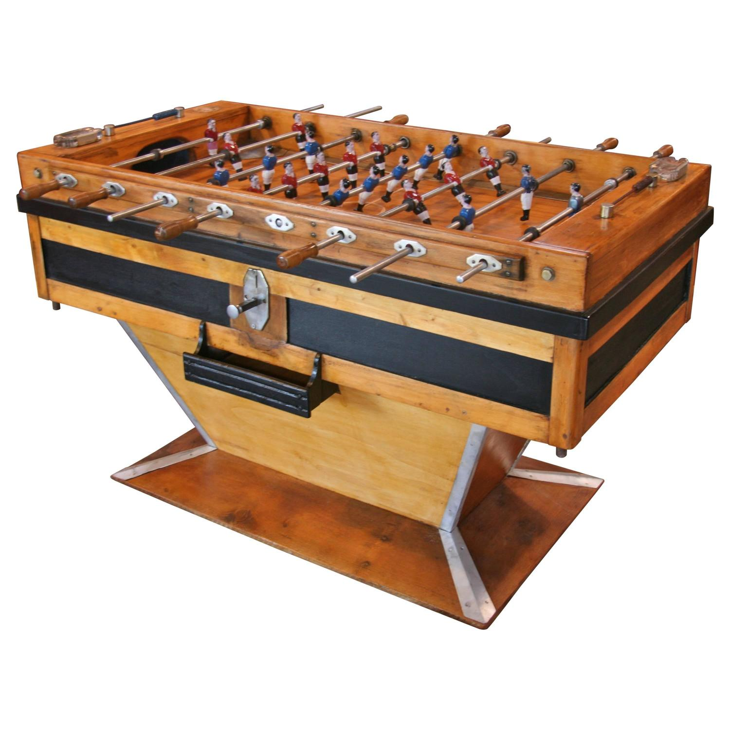 Italian 50 s Foosball Table For Sale at 1stdibs