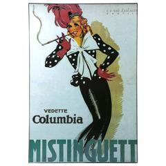 "ON SALE NOW!  Art Nouveau Giclee Print of ""Mistinguett"" Wall Art"