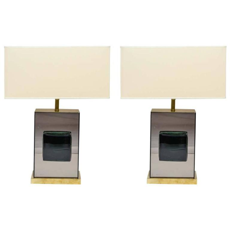 Decorative Pair of Table Lamps