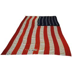 Enormous 48 Star American Flag