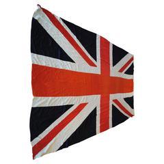 Enormous Antique British Flag